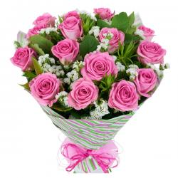 bukiet różowa miłość